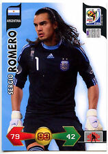 Sergio Romero Argentina Adrenalyn XL World Cup 2010 Football Trade Card (C244)