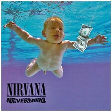 "Nirvana ""Nevermind"" 180g Vinyl LP Record & D/L (New & Sealed)"