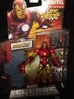 "Iron Man Neo CLassic Armor Marvel Legends EPIC HEROES wave 6"" Authentic Hasbro🔥"