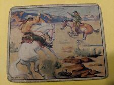 "Original Lone Ranger Trading Card #12 ""The Lasso Duel"""