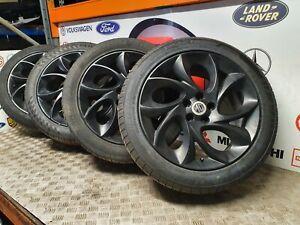 "MG 6 GT TURBO SET OF ALLOY ALLOYS WHEELS 17"" 215 50 17 5X100"
