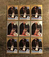(9 Lot) Michael Jordan 1990-91 NBA Hoops Card #5 & #65 GOAT Invest in the Best