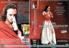(VHS) Die Bartholomäusnacht - Isabelle Adjani, Daniel Auteuil, Vincent Perez