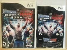 WWE SmackDown vs. Raw 2011 (Nintendo Wii, Wii U 2010) Complete Cib