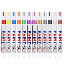 Universal Colorful 12pcs Tyre Paint Marker Pens For Car Motorcycle Tire Tread