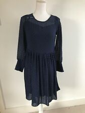 Maeve by Anthropologie Navy Asha Tunic Dress. Navy Blue. UK 8. RRP £130
