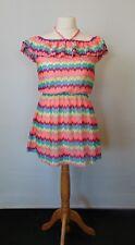 George Multicolour Halter/On/Off Shoulder Mini Sun Dress 10/12