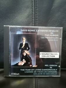 The Year of Living Dangerously / The Hunger - Milan - 1988 rare CD soundtrack