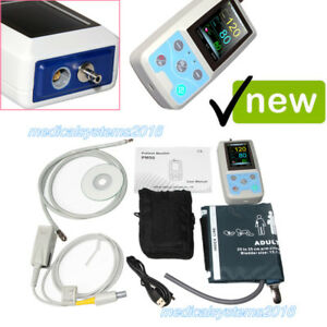 24H Ambulatory Blood Pressure Oxygen Saturation,NIBP+Pulse Rate+Spo2 CONTEC PM50