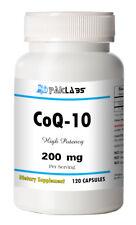 CoQ-10 CoEnzyme Q-10 200mg High Potency 120 Capsule FAST USA SHIPPING