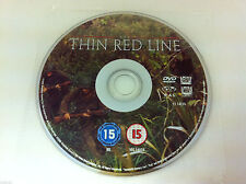 The Thin Red Line - DVD R2 PAL - War Film 2000 - DISC ONLY in Plastic Sleeve