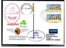 ATM GANZSACHE easyJet / AER LINGUS SLP BERLIN - GENF - DUBLIN FISA KONGRESS 2009