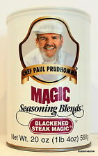 Largest Chef Paul Prudhomme Blackened Steak Magic 20 OZ