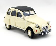 CITROËN 2CV CREME 1982  - 1/24 WELLY