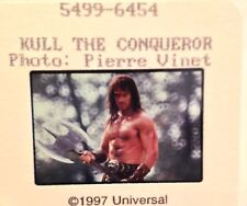KULL THE CONQUEROR (1997) Press Kit Color Photo Slides (4); Kevin Sorbo