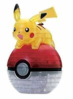 Beverly Pokemon 3D Jigsaw Puzzle Pikachu & Pokeball 61 Pieces CP3-019 F/S wTrack