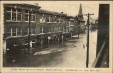 Montpelier VT 1927 Flood Damage VINTAGE EXC COND Postcard #3