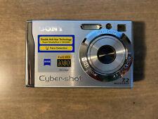 Sony Cyber-shot DSC-W80 7.2MP Digital Camera - Silver (NEW-open box)