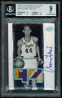 2009 Exquisite Number Pieces GAME-USED PATCH AUTO /44 Jerry West BGS 9 w/ 10