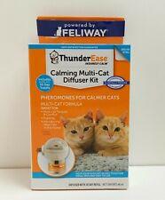 Thunder Ease Calming Multi-Cat Pheromone Diffuser Kit 30 Day Refill #4197 *New*