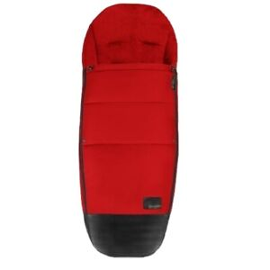 Cybex Platinum Mios Footmuff in Autumn Gold Red