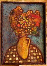 Tableau Original Cazassus René Bouquet de fleurs Puteaux