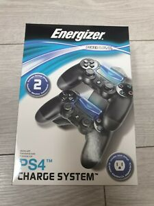 New in Box Play Station 4 PS4 Controller Charge System Energizer Charging Dock