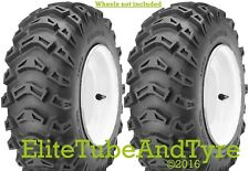 1 Pair: 15x5.00-6 2ply K-478 Tractive Mower Tyres, may replace 15x6.00-6