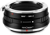 Lens Mount Adapter for Sony Alpha A Minolta AF Lens to Nikon Z Z6 Z7 Camera Body