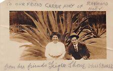 2 Jolly Bugs ~ Vaudeville Act ~ Leigh & Shane ~ Echt Foto Postkarte 1910s