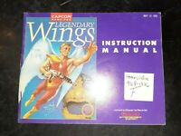 Legendary Wings Instruction Booklet Only NES *BUY 2 GET 1 FREE +FREE SHIPPING*