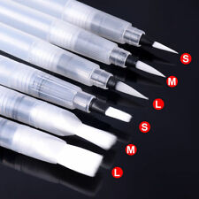 6X Refillable Pilot Water Brush Ink Pen For Watercolour Painting Calligraphy FE1