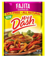 Mrs Dash Seasoning Mix, Fajita, 1.25 Ounce (Pack of 6)