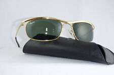 Ray Ban USA B&L Olympian I DLX L0255  4 3/4 Gold vintage sunglasses Biker Harley