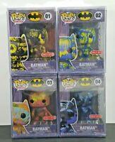 Funko POP Art Series Batman 01 02 03 04 Set of all 4 Target Exclusive