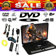 "13.9"" Portable Hd Car Dvd Vcd Cd Player Game Fm Tv Function For Home Outdoor"