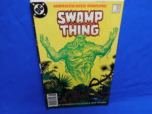 Swamp Thing #37 (1985) - 1st Appearance Of John Constantine Alan Moore