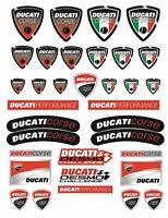 Ducati Corse Decalcomanie per serbatoio adesivi moto 1098 1198 Monster Panigale