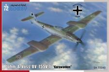 """SPECIAL HOBBY 1/72 BLOHM & VOSS BV-155V-1 """"Karawanken"""" # 72340"""