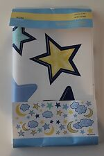 New Restore & Restyle KIDS WALL APPLIQUES STARS, CLOUDS, MOON DESIGN, PKG OF 42