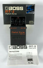 Boss MT-2 Metal Zone Distortion Guitar Pedal Signal Processor