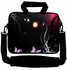"""LUXBURG 14"""" Inches Design Laptop Sleeve With Shoulder Strap & handle #AT"""