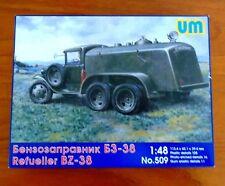 UM 1/48 1938 Refueller BZ-38 Truck MODEL KIT NEW