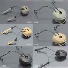 Táctica Airsoft FMA Swat Peltor casco rápido adaptador de carril Conjunto de auriculares