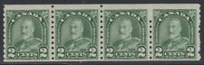 "Canada #180 2¢ King George V ""Arch / Leaf"" Strip of 4 Coil Mint Never Hinged - A"