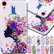 For HTC Desire Silicone Rubber TPU Shockproof Soft Cover Case Protective Skin