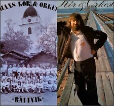 "PRIVATE Fem Acid Xian Folk & Jazz 2LP LOT SPAMANS ""RATTVIK""'72+""Kör""'73(Beatles)"