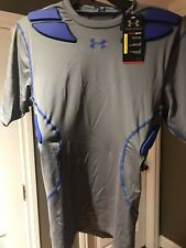 Under Armour Mens Padded Compression Shirt – Built In Padding - Medium - $74.99