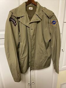 WWII Jacket US Army M42 GI Ranger Airborne Paratrooper D-Day 46R  Reproduction