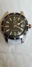 Vintage Lucerne Submarine Men's Wristwatch Diver Style Swiss FOR PARTS/REPAIR